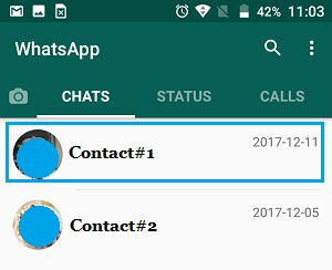 پشتیبان چت واتساپ
