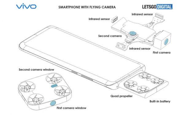 گوشی هوشمند ویوو با دوربین پرنده