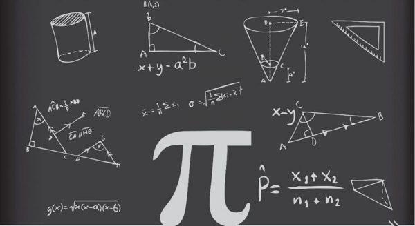 عدد پی در ریاضیات