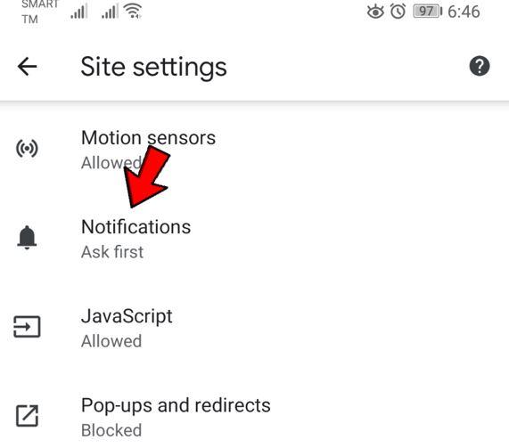 آموزش غیرفعال کردن اعلان ها و نوتیفیکیشن ها در گوگل کروم 6