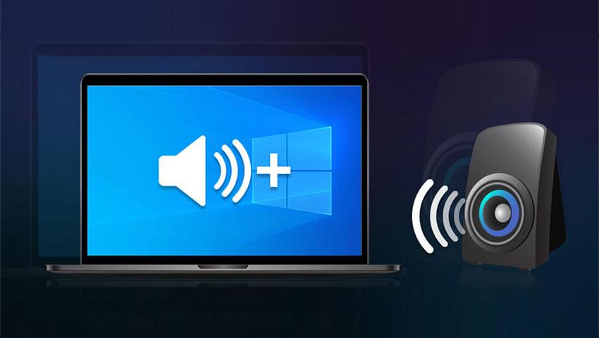 افزایش صدای ویندوز 10