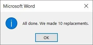 آموزش حذف تمام تصاویر از فایل ورد با یک کلیک