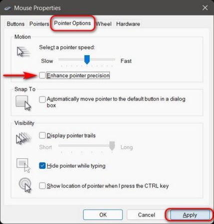Mouse Acceleration چیست و چگونه در ویندوز 11 آن را غیرفعال کنیم؟