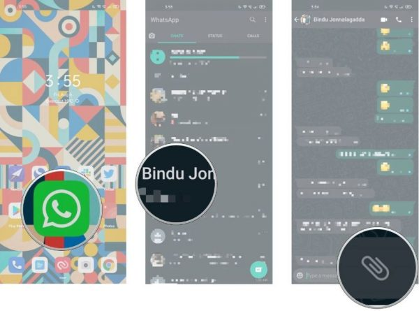آموزش ارسال عکس و ویدیوی یکبار مصرف در واتساپ 1