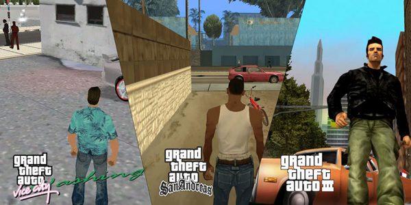 ریمستر بازی های GTA