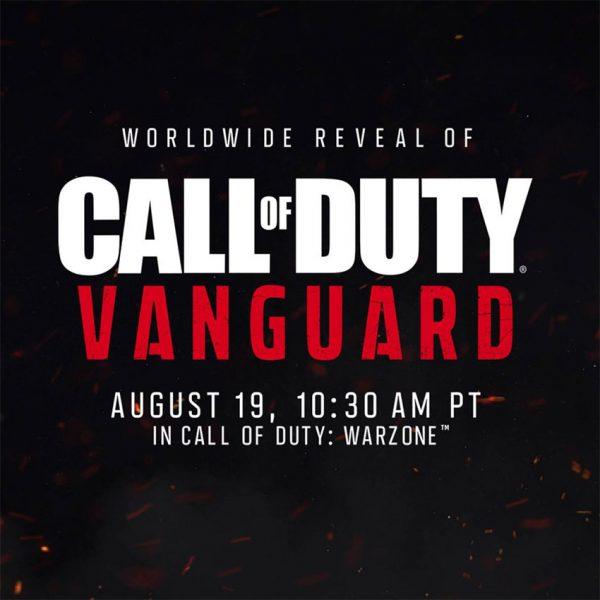 تاریخ معرفی Call of Duty: Vanguard