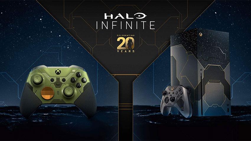 باندل ایکس باکس و دسته ویژه Halo Infinite