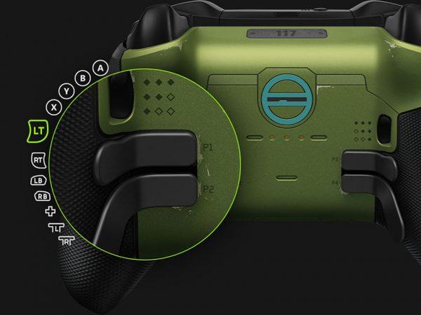 کلیدهای کنترلر ویژه Halo Infinite