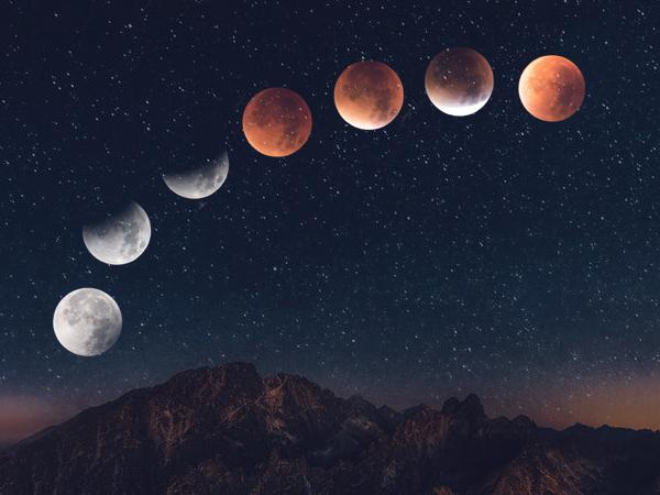 چگونگی پیدایش ماه