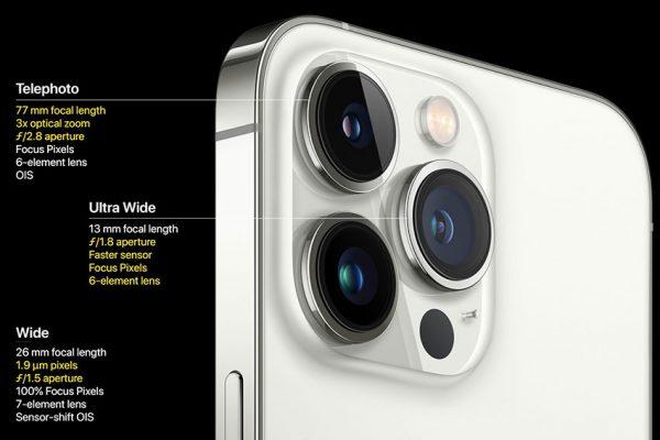 دوربین آیفون 13 پرو