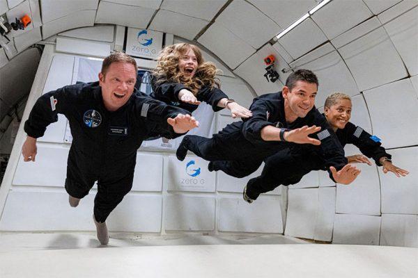 سفر فضایی تفریحی اسپیس ایکس