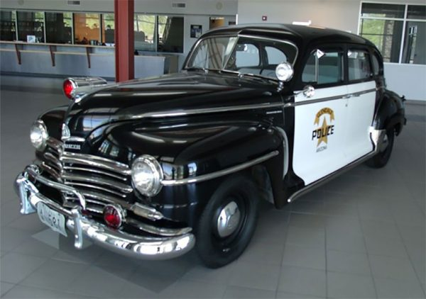 ماشین پلیس دهه 1940