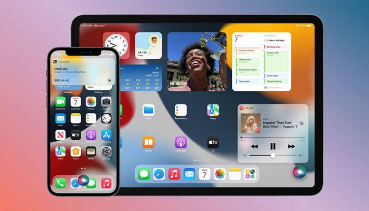 زمان انتشار iOS 15.1